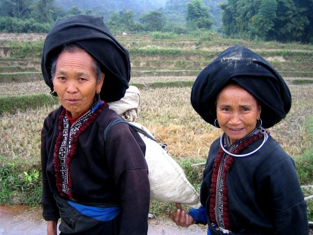 ethnic minoritie woman Northern Vietnam