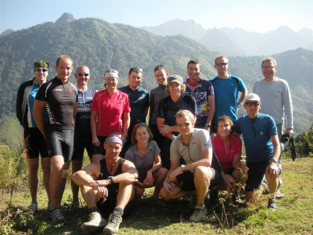 Group after leaving Sapa