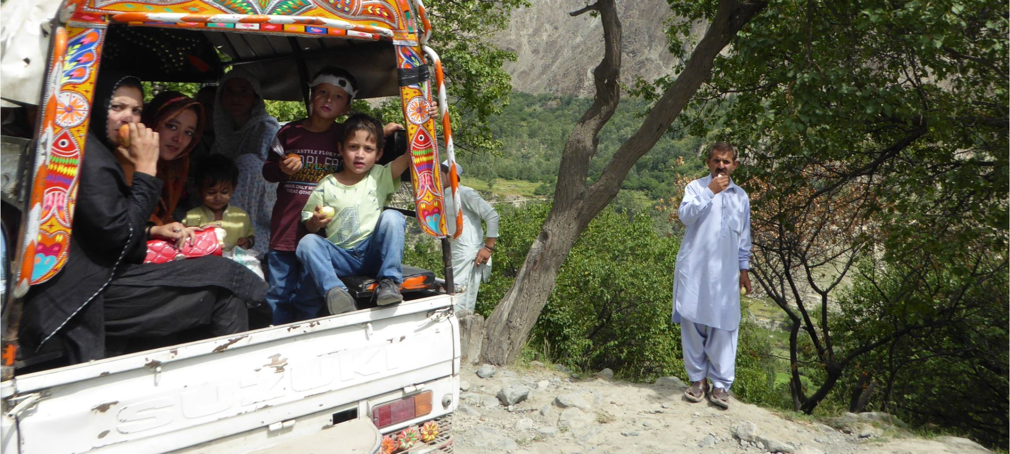 Taxi Service, Bagrot Valley, Pakistan