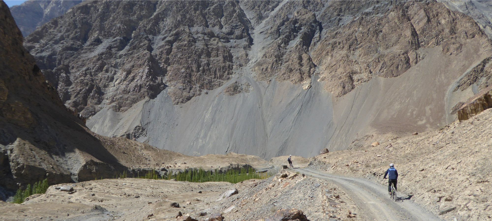 Cycling Shimshal to Passu, Pakistan