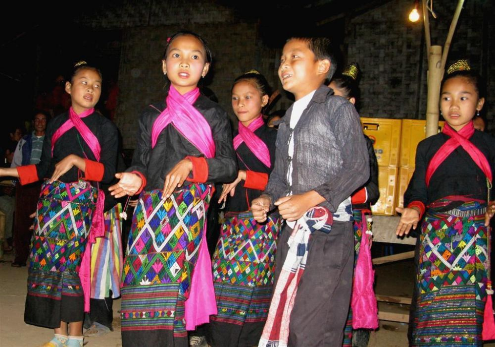 Khum, one of Laos minorities groups