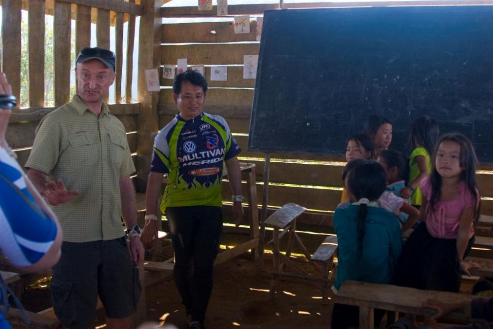 One of the Hmong schools we built support