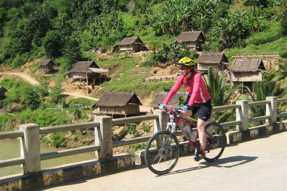 Photos from our Laos - South to North Cycling Holiday