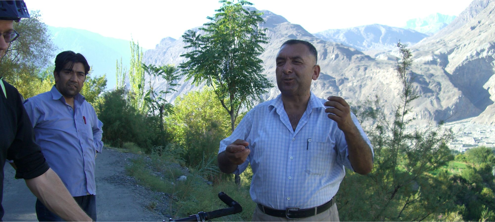 Arman Ali, famous guide from the Hunza