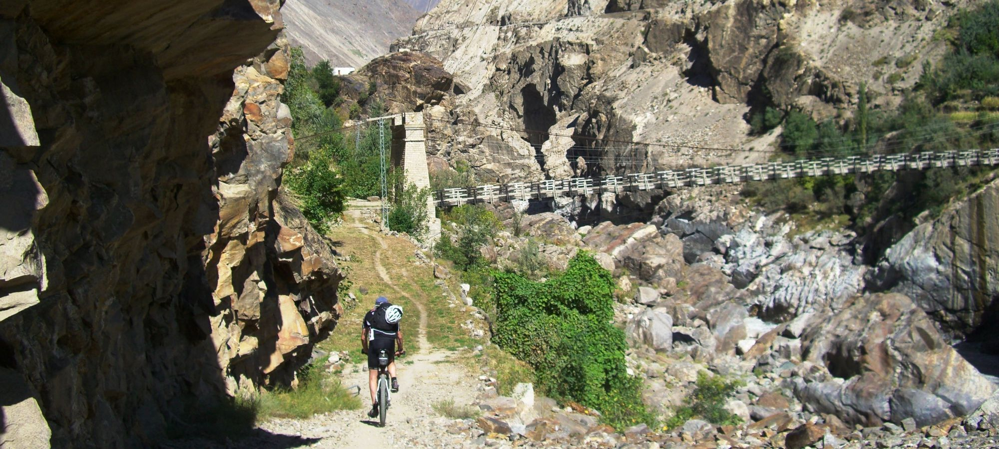 Cycling Skardu to Gilgit