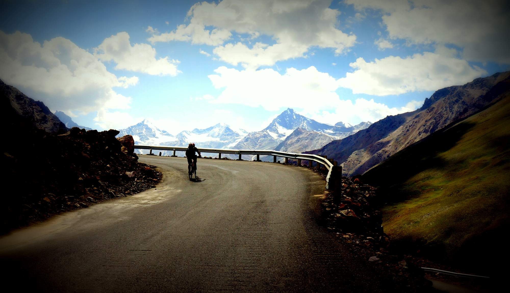 high altitude cycling