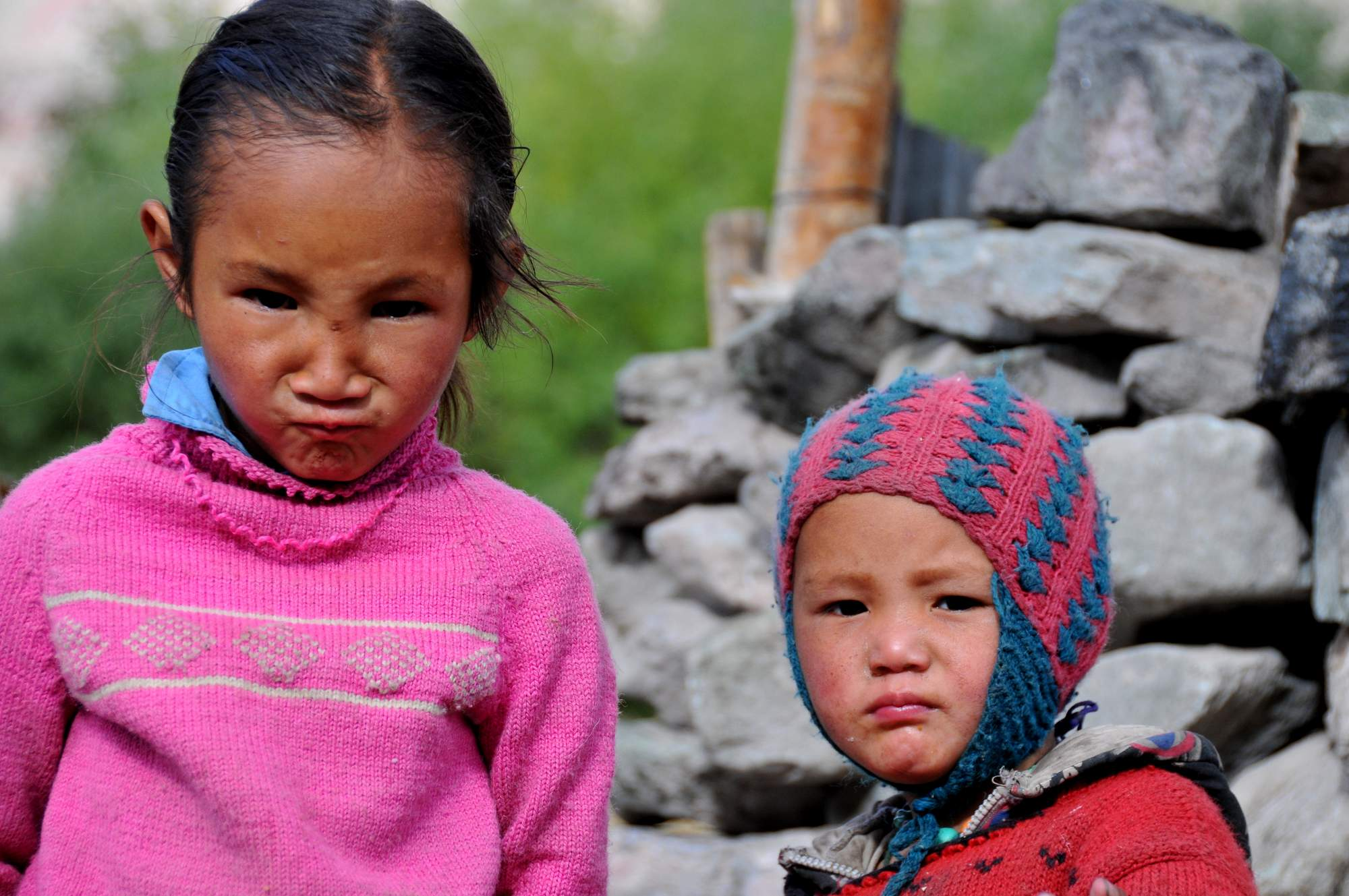 children himalayas