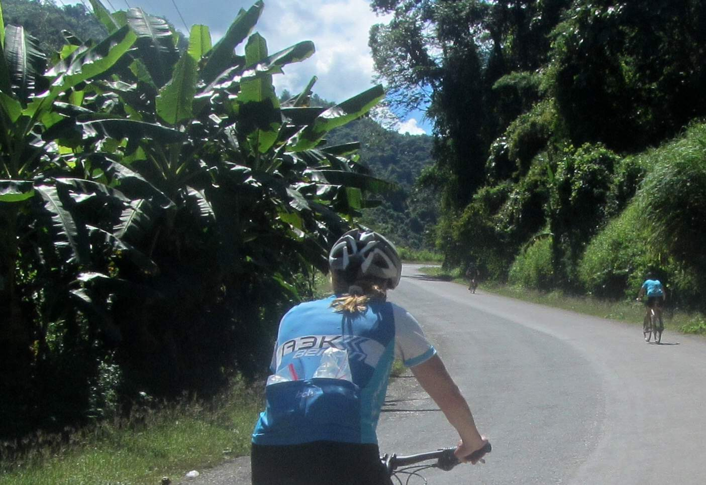 cycling  Luang Prabang to Vientiane