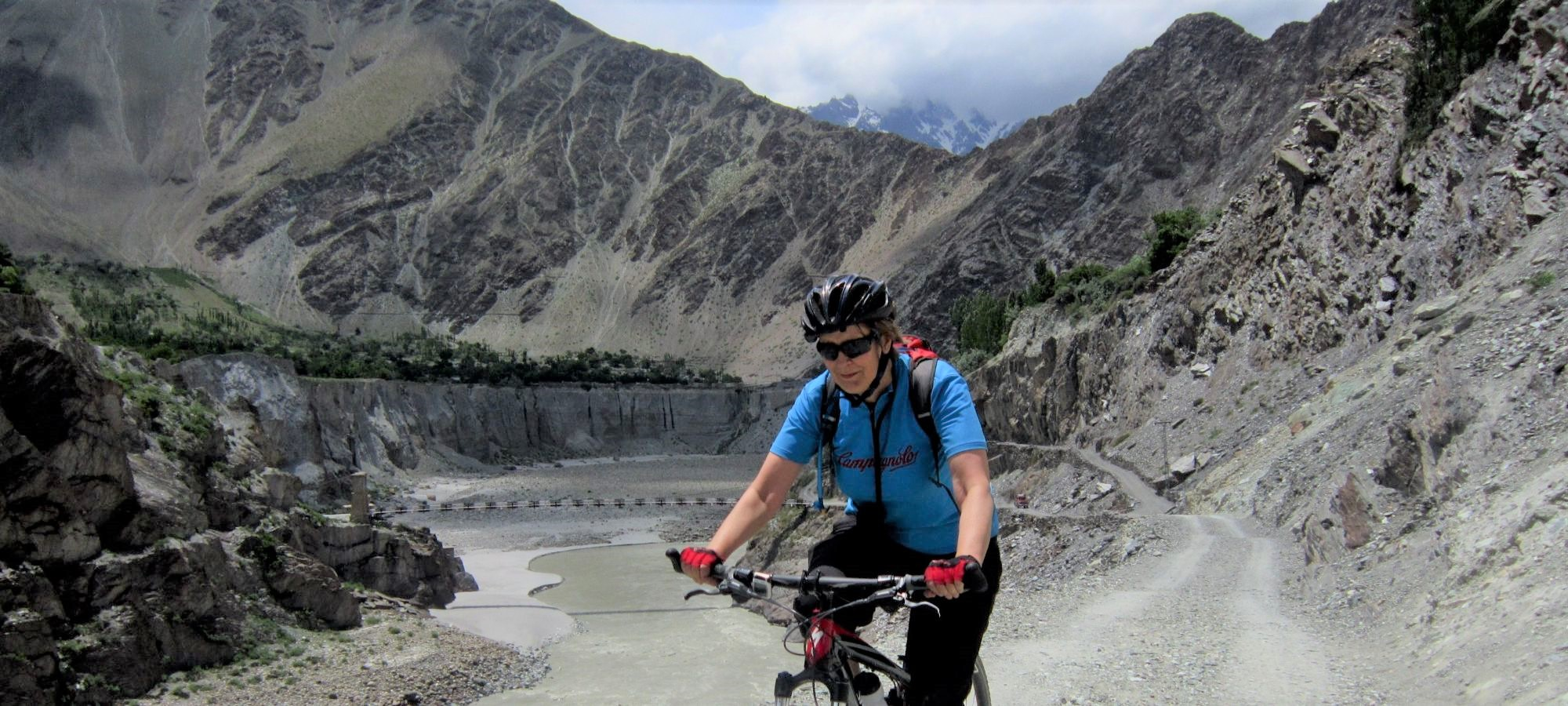 Cycling Hussainabad To Minapin