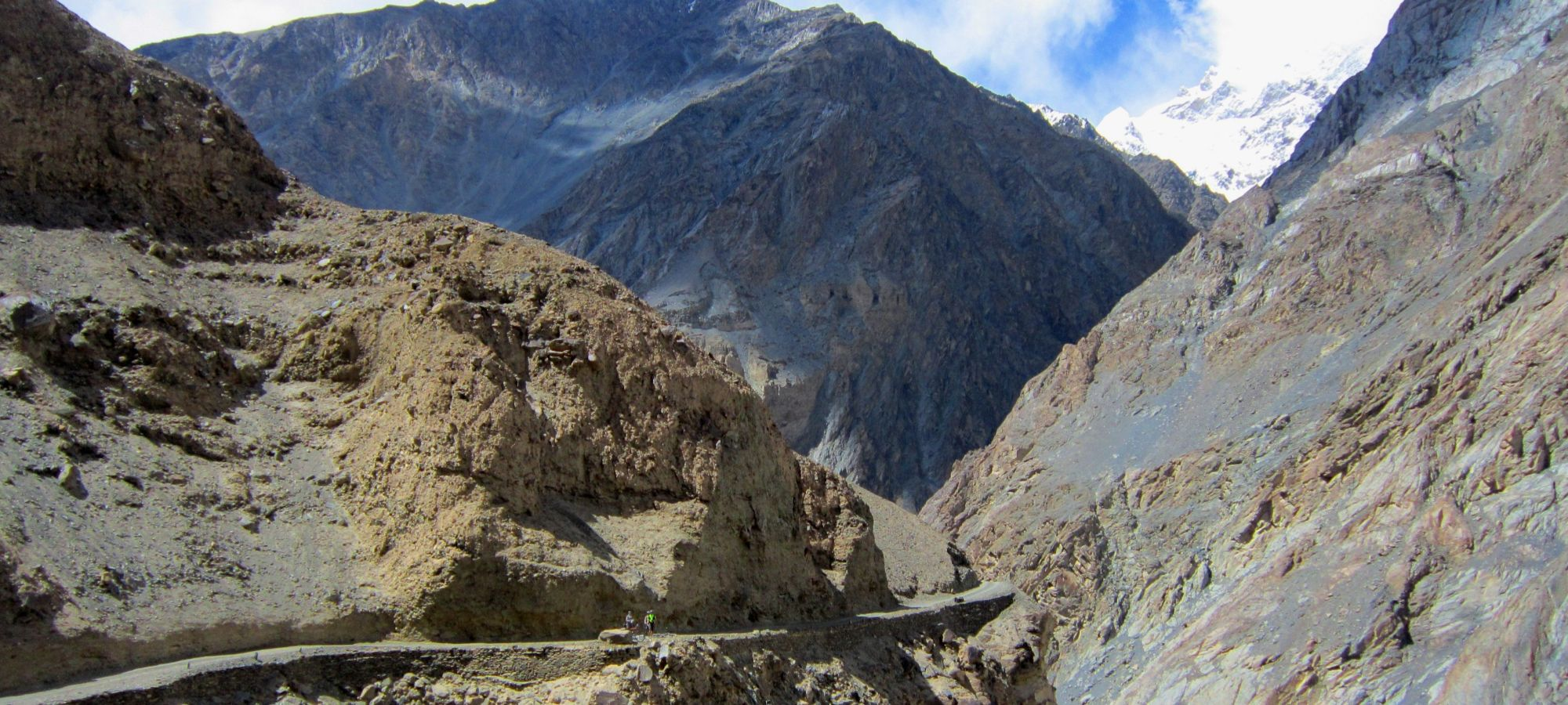 Road to Shimshal
