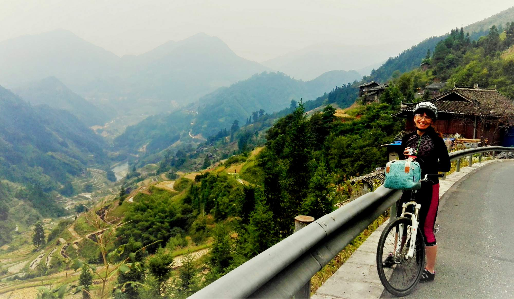 cycling rural china