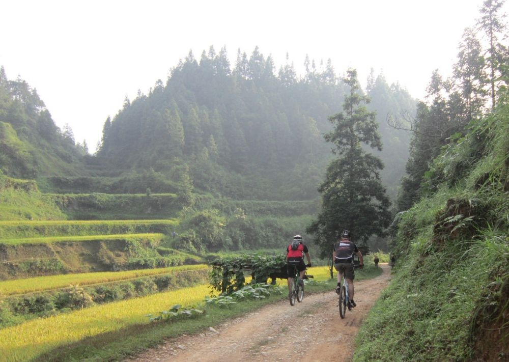 Back road to Liping , Guizhou