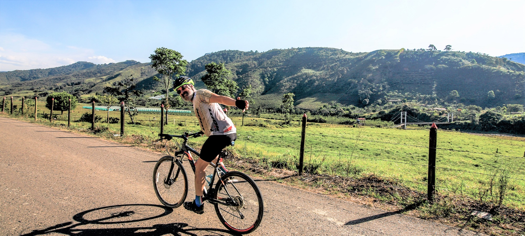 Photos from our Colombia  Cycling Holiday