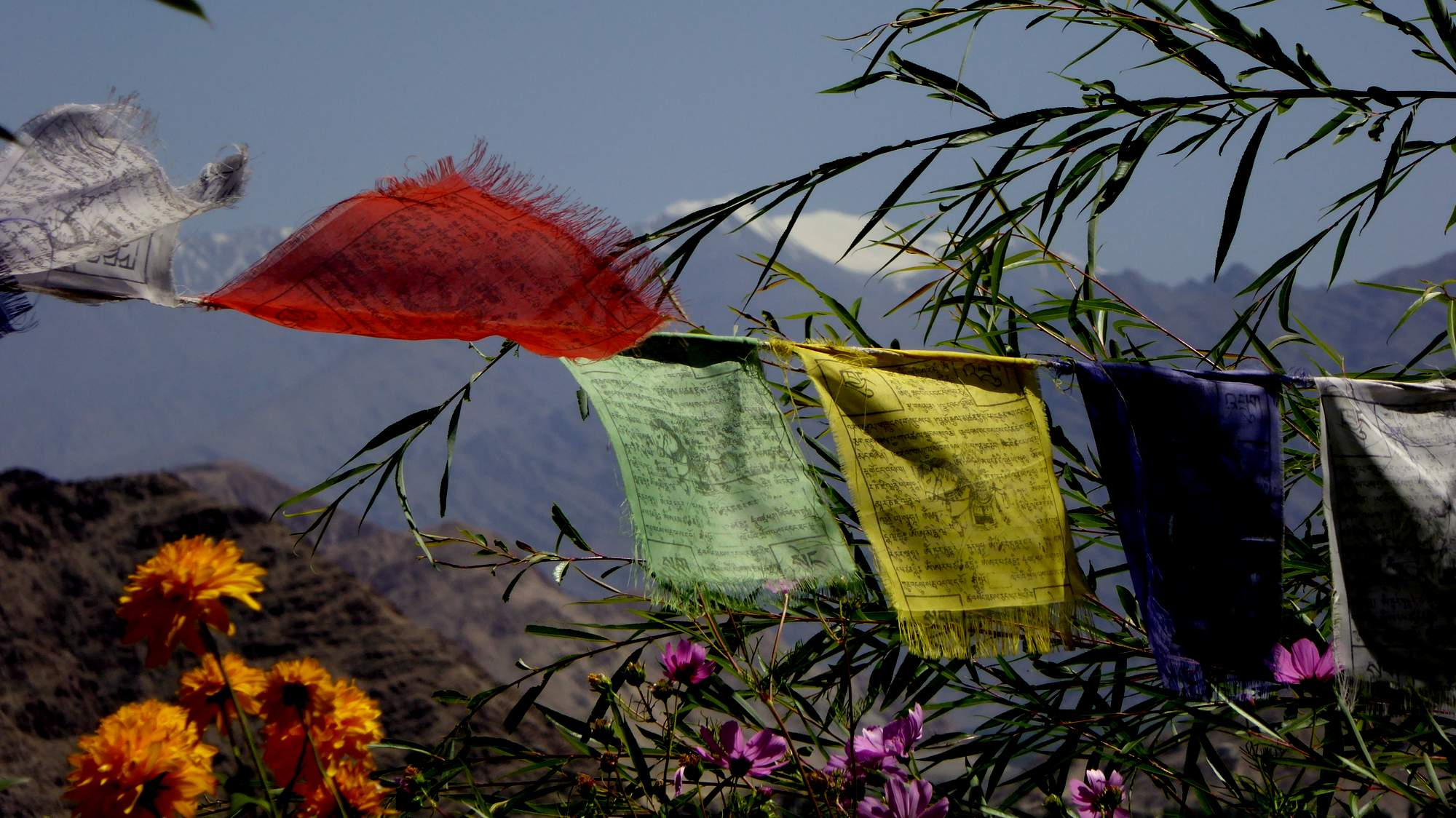 indian prayer flags