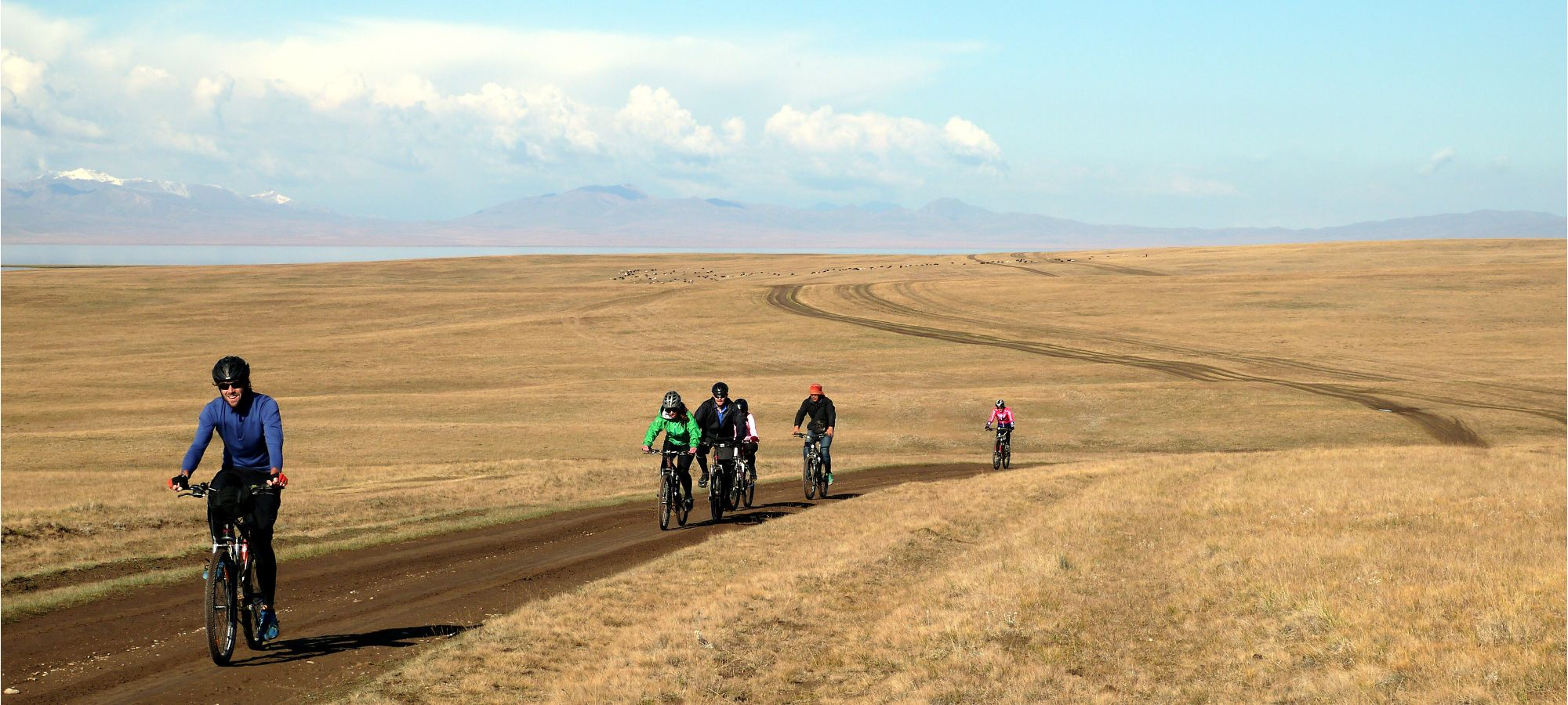 cycling Central Tien Shan mountains