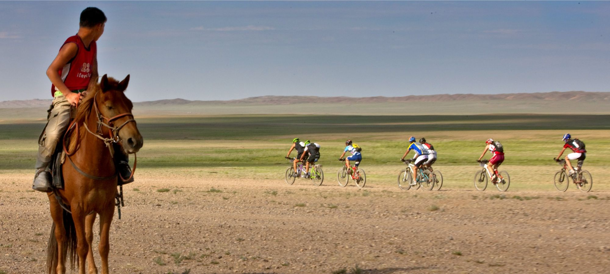 Photos from our Mongolia Gobi Cycling Holiday