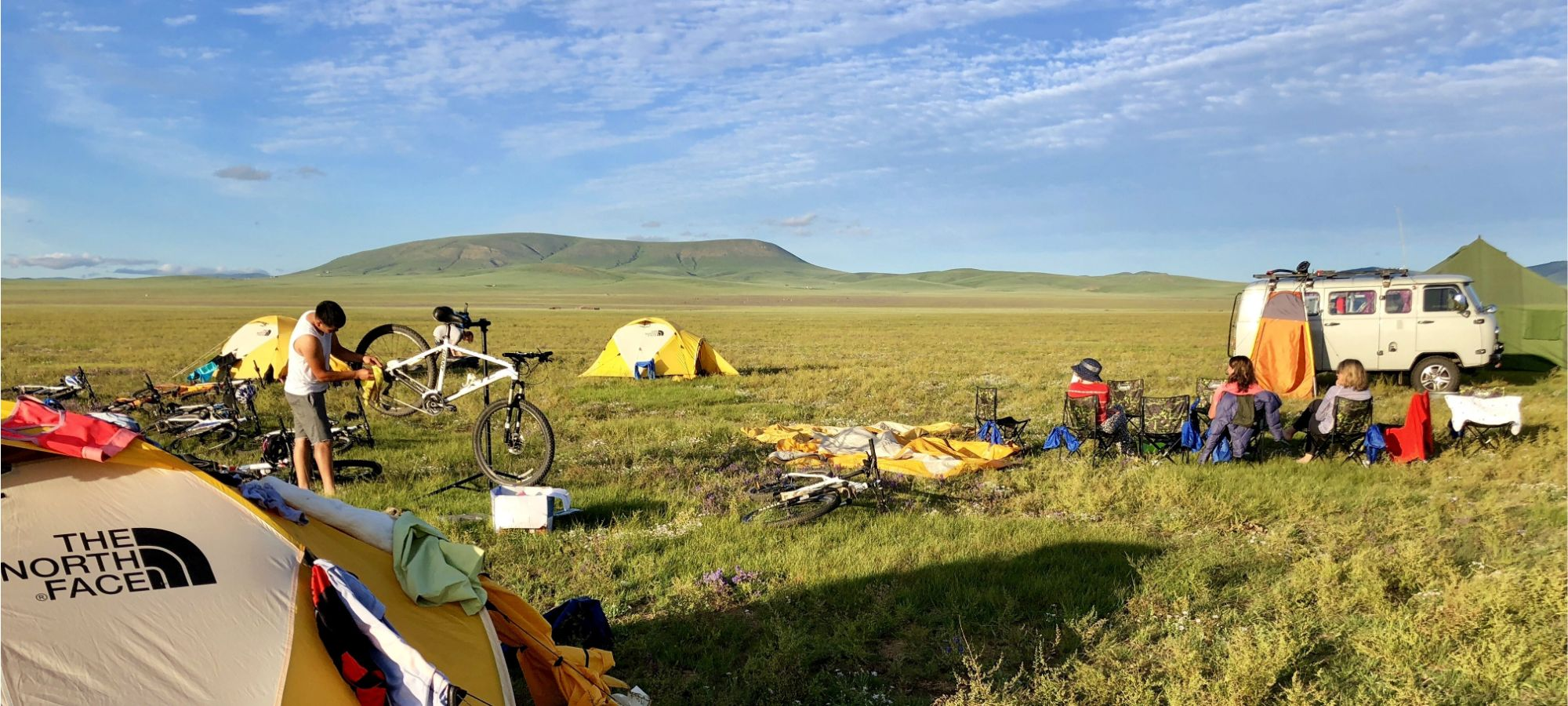 Photos from our Mongolia Bulgan Cycling Holiday