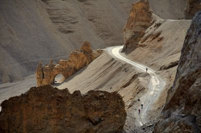 Manali Leh cycling