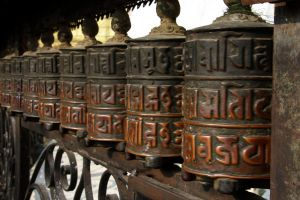 Prayer wheel Nepal