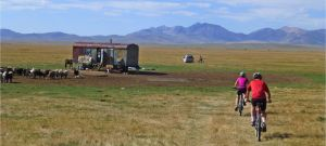 cycling Kochkor kyrgyz