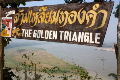 Cycling to the Golden Triangle, Thailand