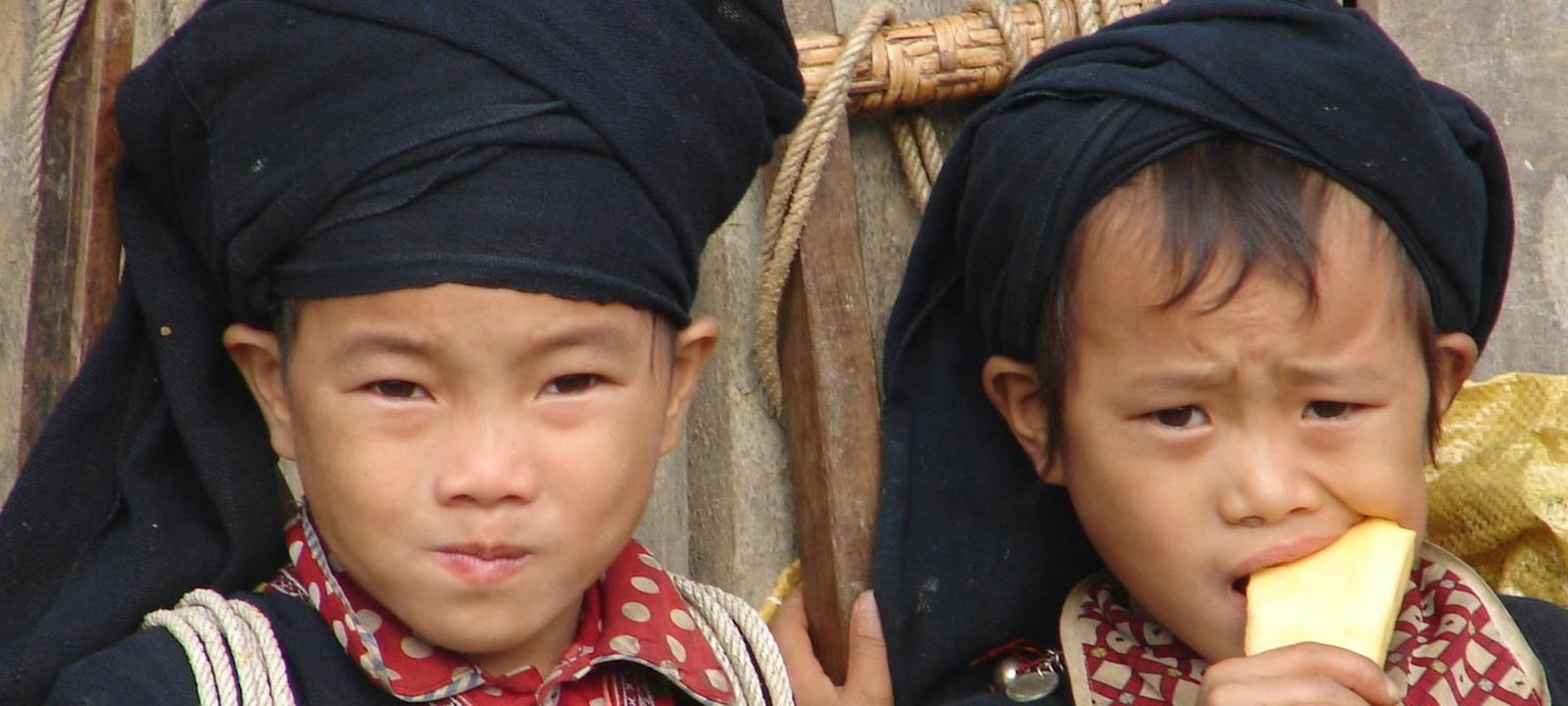 Vietnamese children in North East Vietnam
