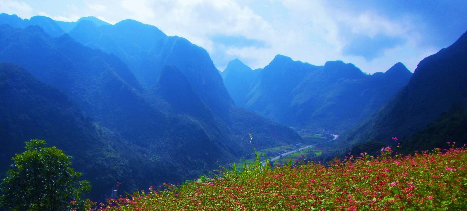 Enjoy the beautiful scenery in North East Vietnam