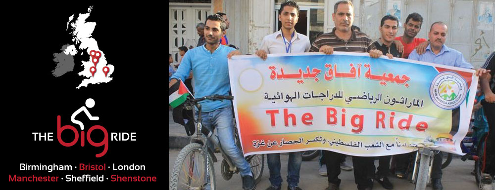 The big ride - 4 bicycle rides for Palestine