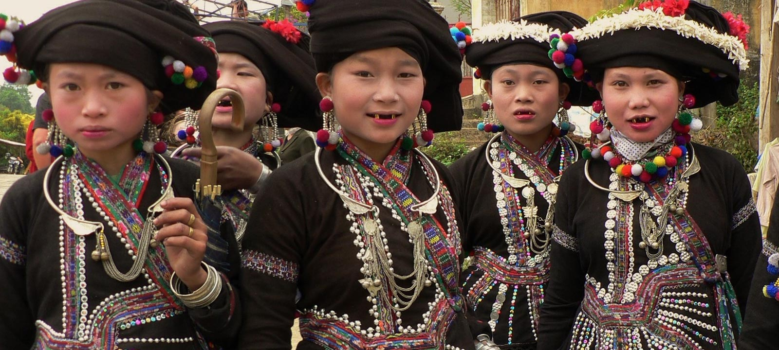 Vietnamese children in North West Vietnam