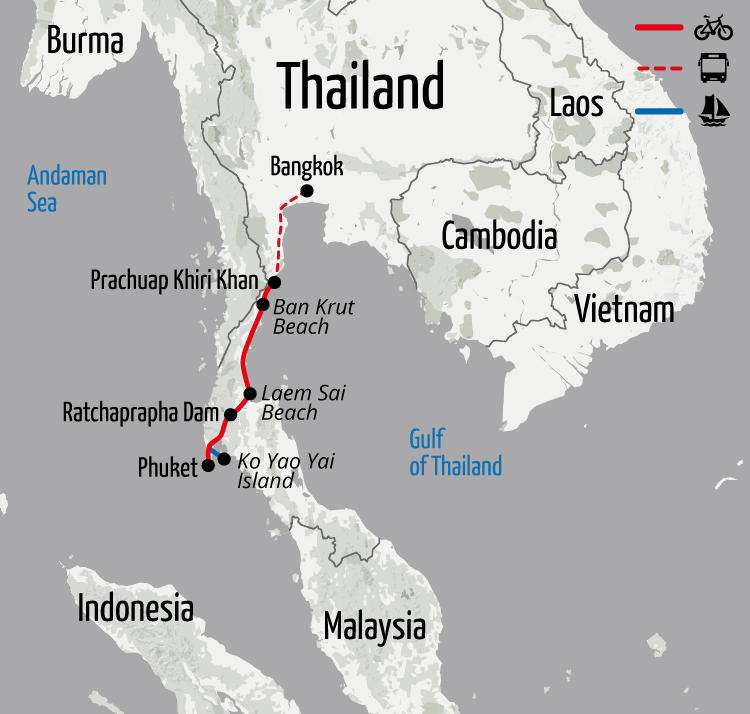 Southern Thailand Cycling Tour, Cycling Holiday in ...