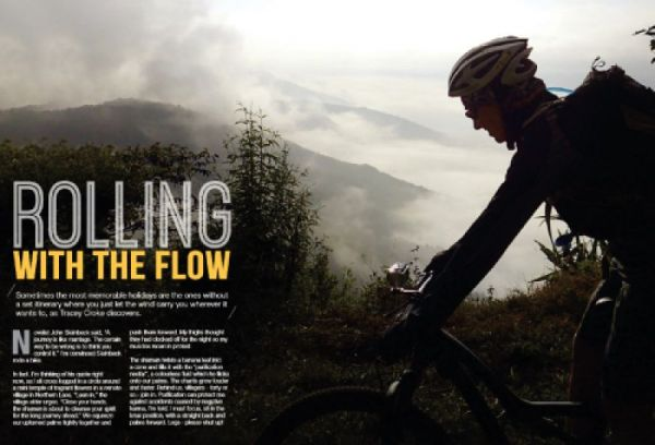 Rolling With The Flow | redspokes News Article