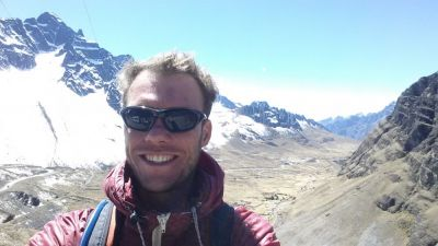 AJ Smith Cycling on the Peru & Bolivia  tour with redspokes