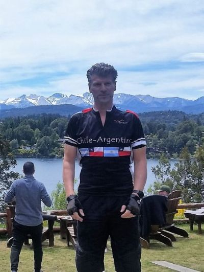 Keith Russell Cycling on the Chile & Argentina   tour with redspokes