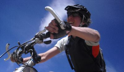 Tracey Binks Cycling on the Peru - The Andean Dream tour with redspokes