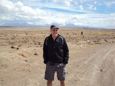 Michael Tanner Cycling on the Peru - The Andean Dream tour with redspokes