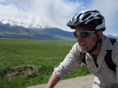 Rob Eagle  Cycling on the Karakoram Highway to Kyrgyzstan tour with redspokes