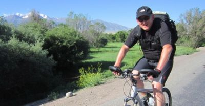 Stuart Williams Cycling on the Karakoram Highway to Kyrgyzstan tour with redspokes