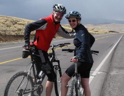 Simon Watkinson  Cycling on the Peru - The Andean Dream tour with redspokes