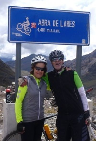 Breda Keating Cycling on the Peru - The Andean Dream tour with redspokes