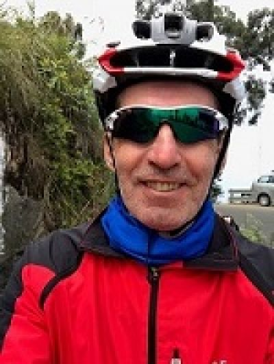 Pierre Albert Gaspard Cycling on the India - Kerala tour with redspokes