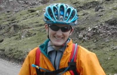 Damian King Cycling on the Peru - The Andean Dream tour with redspokes
