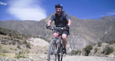 Keith Pearce Cycling on the Peru - The Andean Dream tour with redspokes