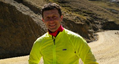 Nicolas Cheatle Cycling on the Peru - The Andean Dream tour with redspokes