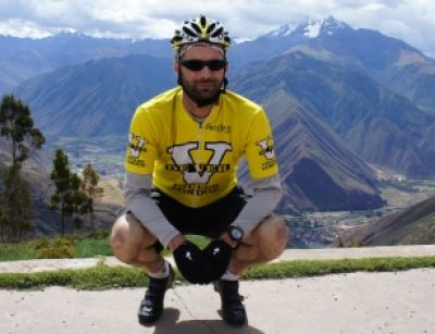 Phil Hurcom Cycling on the Peru - The Andean Dream tour with redspokes