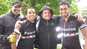 The big ride - A bicycle ride for Palestine