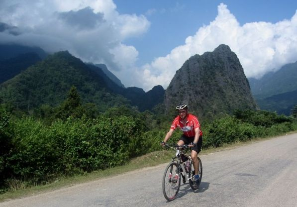Cycle Laos on the Vietnam to Laos cycling tour