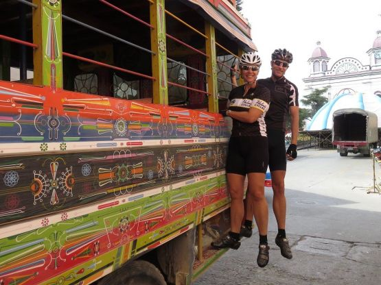 Cycle Colombia on the Colombia Custom Tours cycling tour
