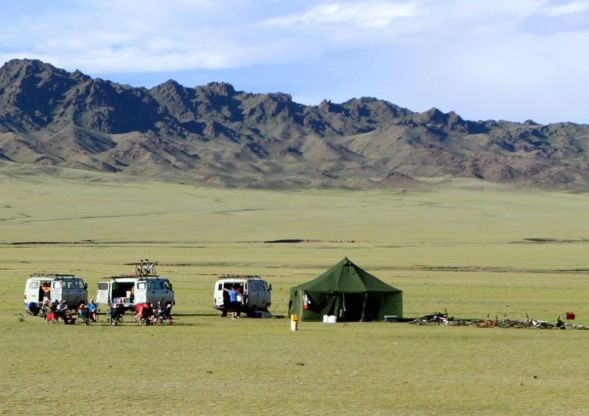 Explore redspokes' Mongolia Bulgan Bicycle Tour