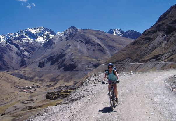 Cycle Peru on the Peru - The Andean Dream cycling tour