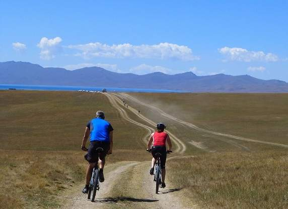 Explore redspokes' Kyrgyzstan Bicycle Tours